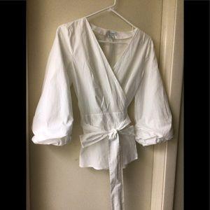 Sundance Avant Garde wrap blouse